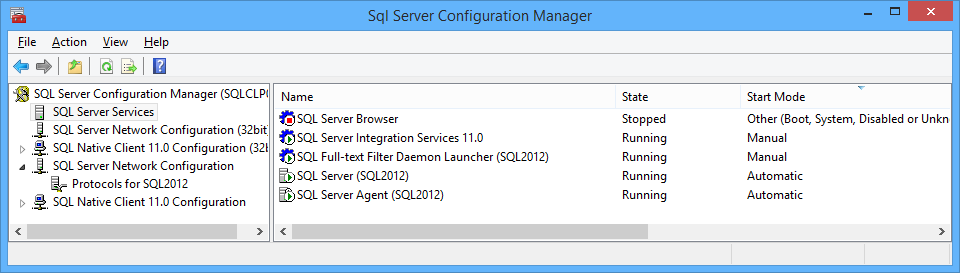 SQL Server services are gone after upgrading to Windows 8.1 (2/2)